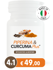 Piperina & Curcuma Plus